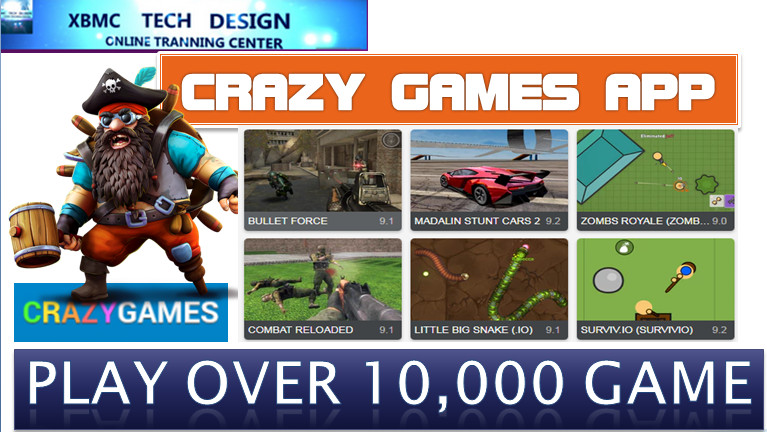 Download Crazy Games  APK- Play Over 10,000 of Online Free Games on Android Quick Crazy Games Android Apk Play Online Racing,Shooting,Action,Advanture or Many More Games on Android