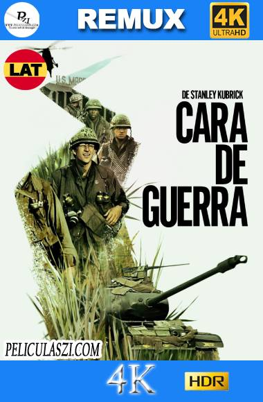 Cara de Guerra (1987) Ultra HD REMUX 4K HDR Dual-Latino VIP