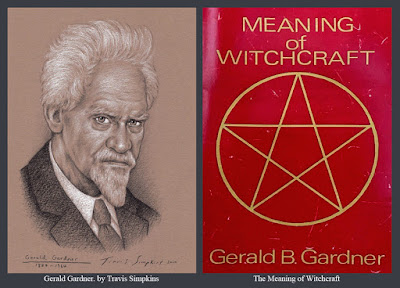 Gerald Gardner. Book of Shadows. Gardnerian Wicca. The Meaning of Witchcraft. by Travis Simpkins