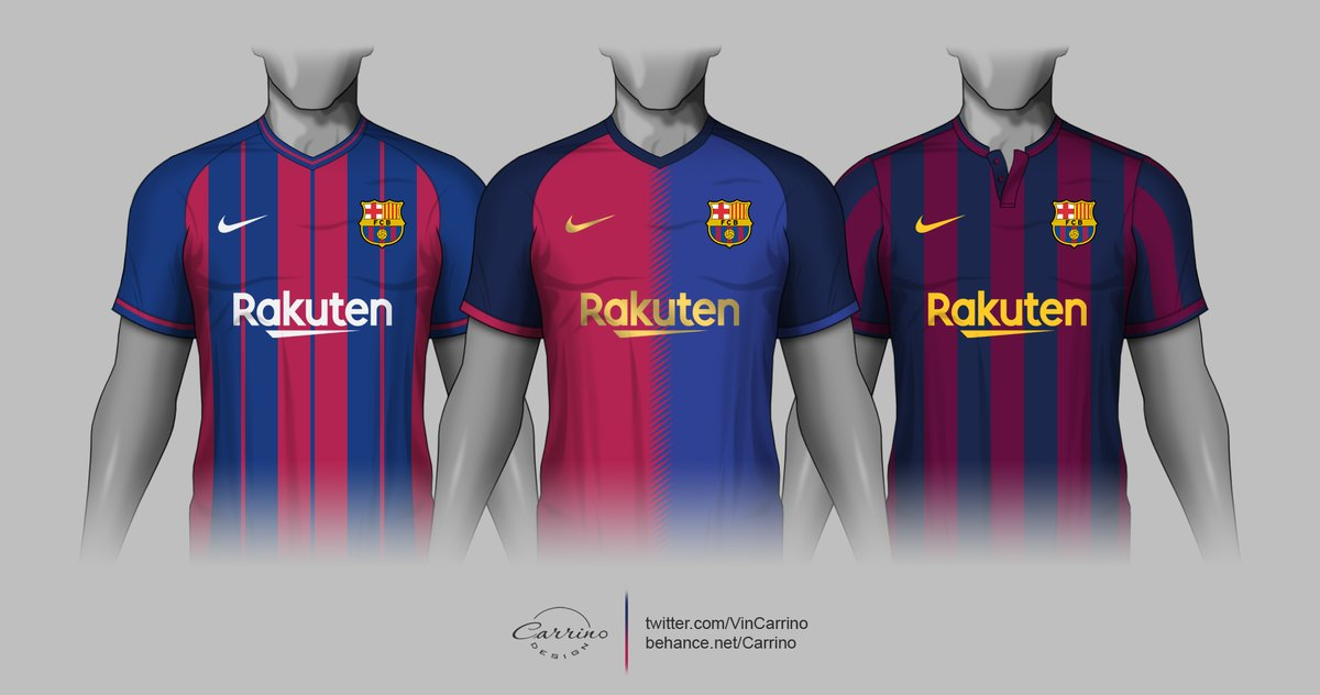official photos c6c01 755b0 3 Amazing Nike FC Barcelona Home Kit Concepts By Carrino ...