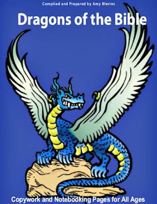 Cover image of Dragons of the Bible created by Amy Blevins