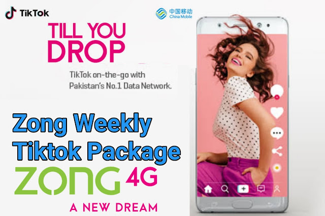 zong weekly tiktok package