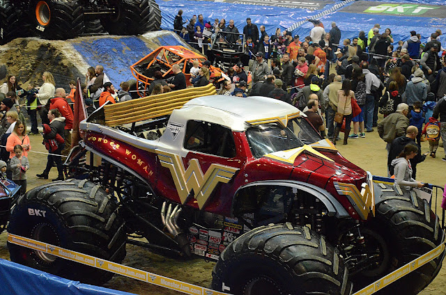 Monster Jam Pit Party Wonder Woman