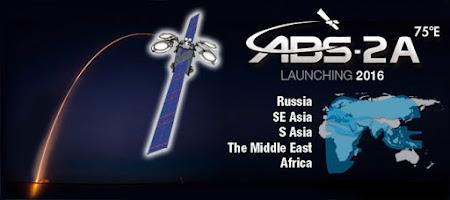Peluncuran Satelit Terbaru ABS-2A