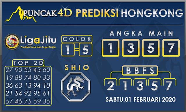 PREDIKSI TOGEL HONGKONG PUNCAK4D 01 FEBRUARI 2020