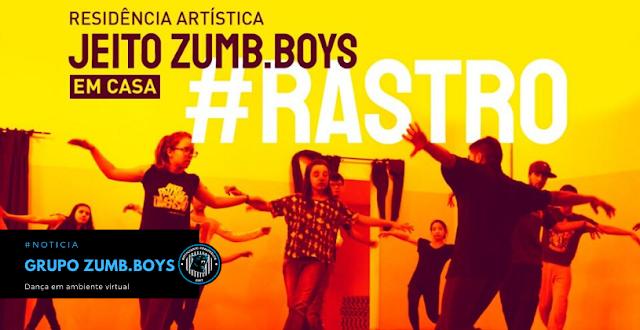 Grupo Zumb.boys convida pessoas do Brasil inteiro para Residência Artística virtual