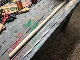 Dowel and aluminum rods
