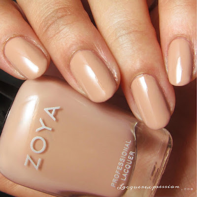 Nail polish swatch of Cathy from the Naturel 3 collection by Zoya