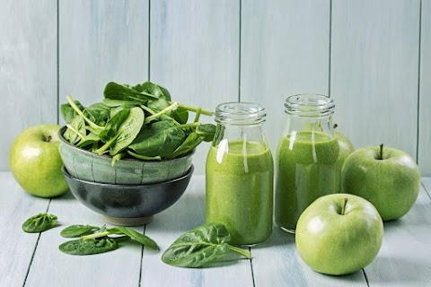 Karcsúsító, almás-spenótos smoothie: ez felpörgeti az anyagcserédet