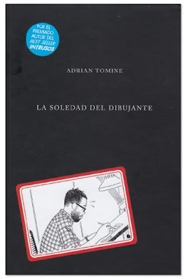 La soledad del dibujante de Adrian Tomine comic Sapristi
