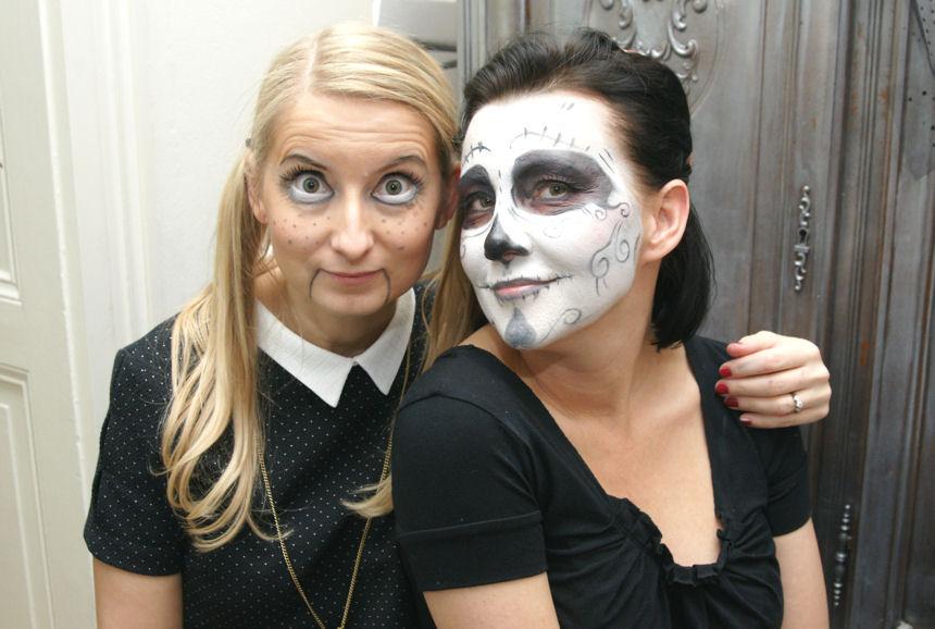 halloween makijaż