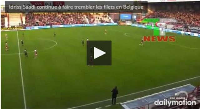 Vidéo : Le joli but d'Idriss Saadi aujourd'hui