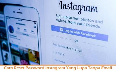 Cara Reset Password Instagram Yang Lupa Tanpa Email (Termudah.com)