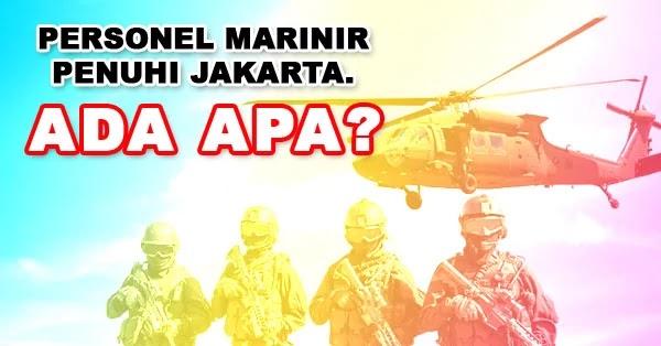 Marinir Penuhi Jakarta