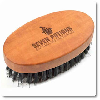 16 Seven Potions Beard Brush For Men