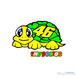Valentino Rossi Turtle Logo vector (.cdr)