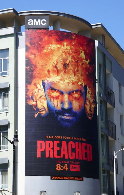 Preacher final season 4 billboard