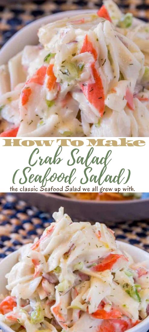 Crab Salad (Seafood Salad) #vegan #vegetarian #soup #breakfast #lunch