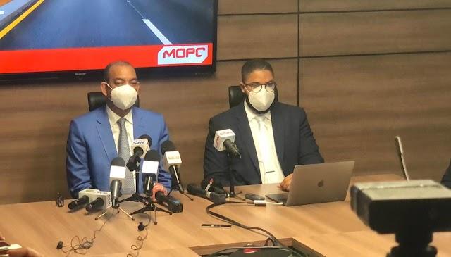 MOPC anuncia arreglo de vías en Santo Domingo Oeste, Los Alcarrizos y Pedro Brand