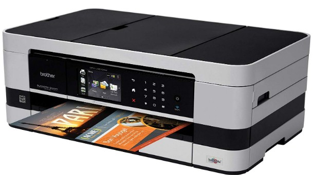 Brother Printer MFCJ4510DW Wireless Color Photo Printer with Copier and Fax Scanner