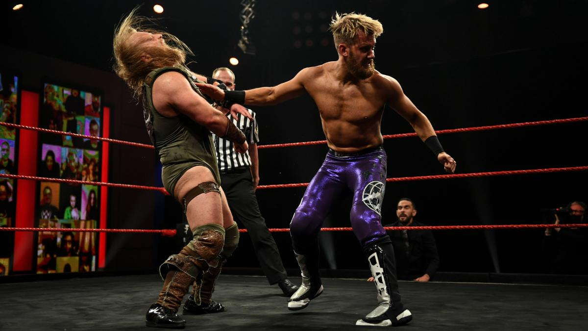 Mark Andrews and Wild Boar on WWE NXT UK