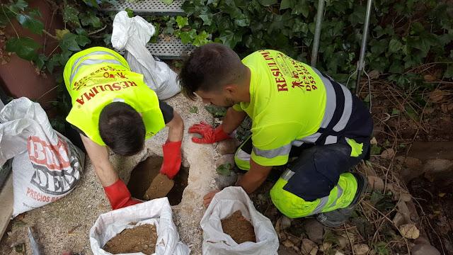 construcción arquetas sifónicas Sevilla