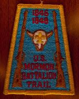 Mormon Battalion Trail Patch