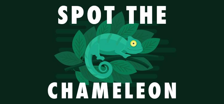 spot the chameleon quiz answers 100% score