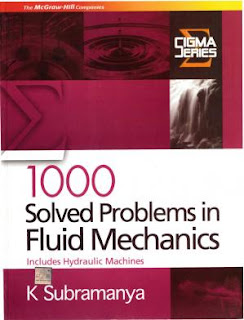 [PDF] 1000 Solved Problems in Fluid Mechanics K Subramanya