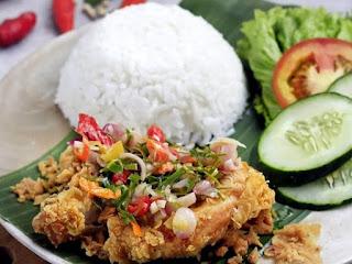 Resep serta Cara Membuat Sambal Ijo Ayam Geprek
