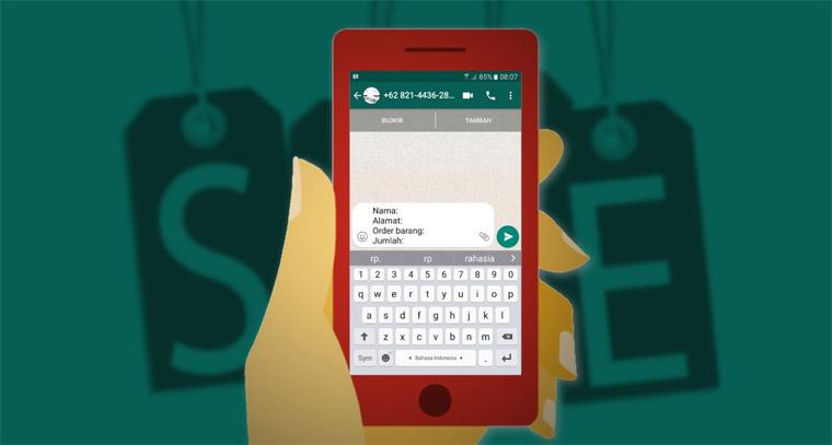 Cara Membuat Link Menuju Chat WhatsApp