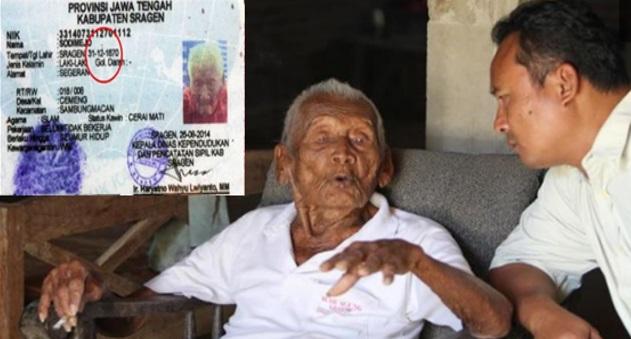 Mbah Gotho Lelaki Didakwa Paling Tua Di Dunia Dedah Rahsia Umur Panjang