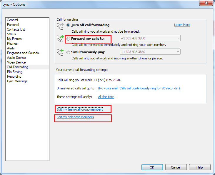 How to manage calls in Lync 2013? | UC Administration Blog