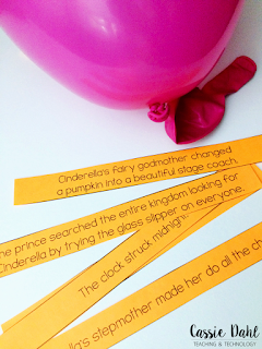 Do you teach sequence of events? Are you looking for a fun way to practice this important comprehension skill? You can use balloons with important story events to add some excitement to your instruction. Click to read how and download the freebie!