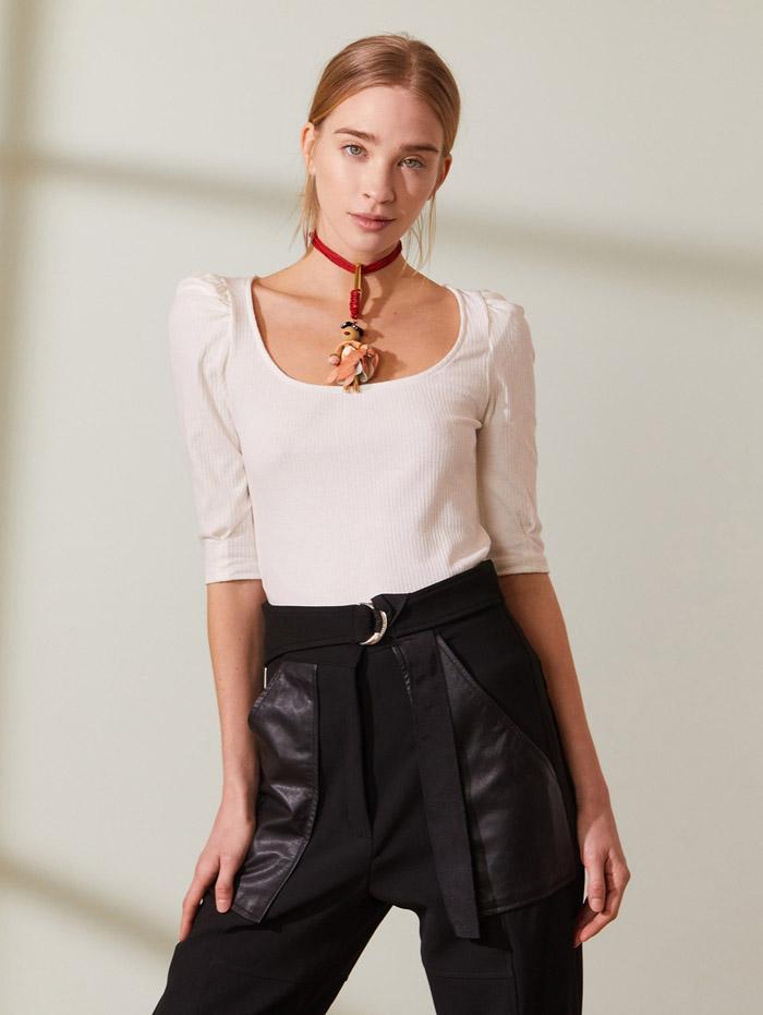 pantalones engomados de verano 2021 moda mujer