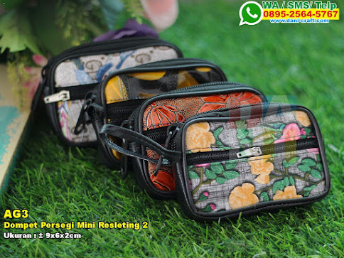 Dompet Persegi Mini Resleting 2