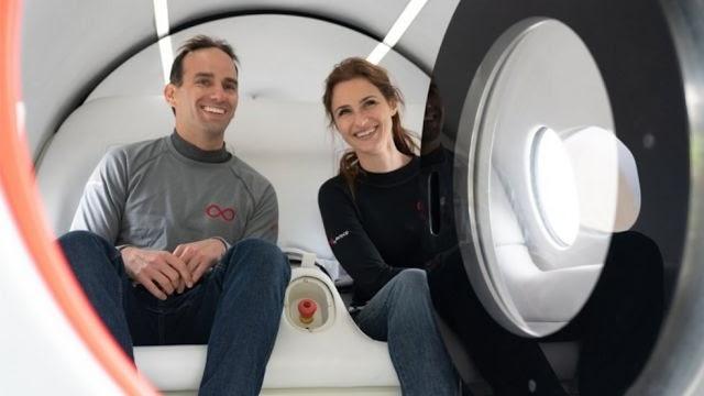 Virgin Hyperloop: veja o 1º teste, com passageiros, do transporte futurista