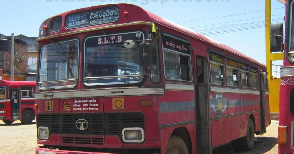 SLTB buses - ශ්රී ලංගම බස්: TATA 1510 Bus from SLTB ...