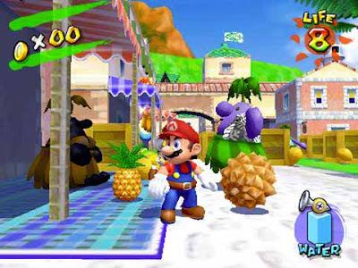 ''Super Mario Sunshine'' per Nintendo GameCube