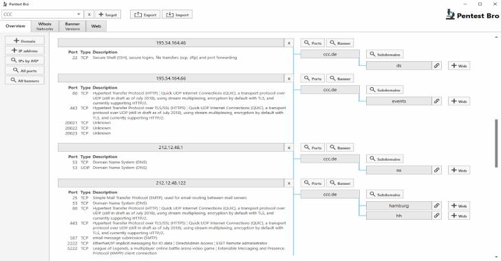PentestBro : Port Scanning, Banner Grabbing & Web Enumeration Into One Tool