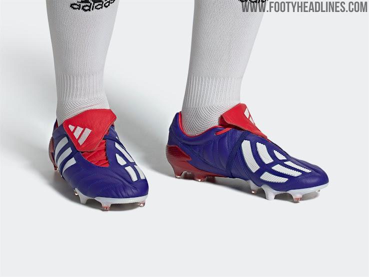 dividir tinción Elevado  Japan Blue' Adidas Predator Mania 2002-2020 Remake Boots Released - Footy  Headlines