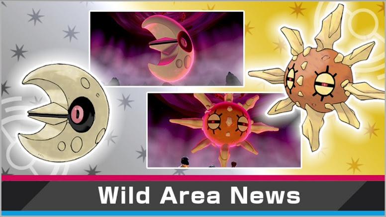 Wild Area Evento Solrock Lunatone