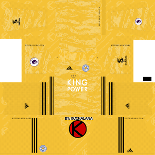 Leicester City 2019/2020 Kit - Dream League Soccer Kits