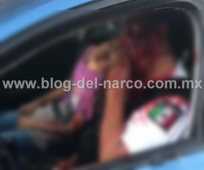 """Video: Hoy se registró un cobarde ataque disque de """"Sicarios"""" en San Luis Potosí contra custodio y su hijo quien murió en el ataque"""