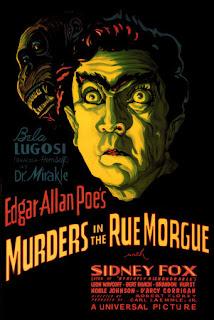 Poe, Lugosi y un simio, ¿que más se puede pedir?