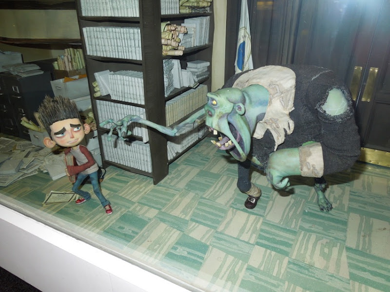 ParaNorman stop-motion puppets