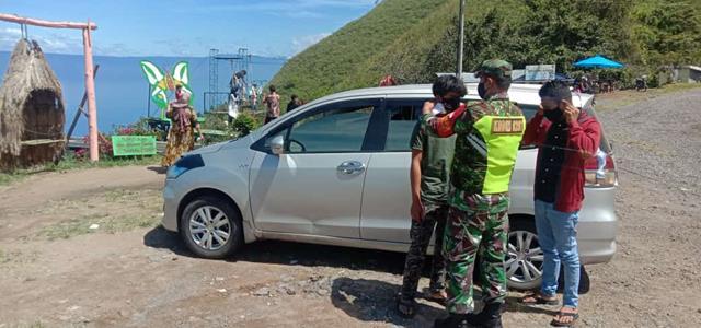 Cegah Penyebaran Covid-19, Personel Jajaran Kodim 0207/Simalungun Laksanakan Gakplin