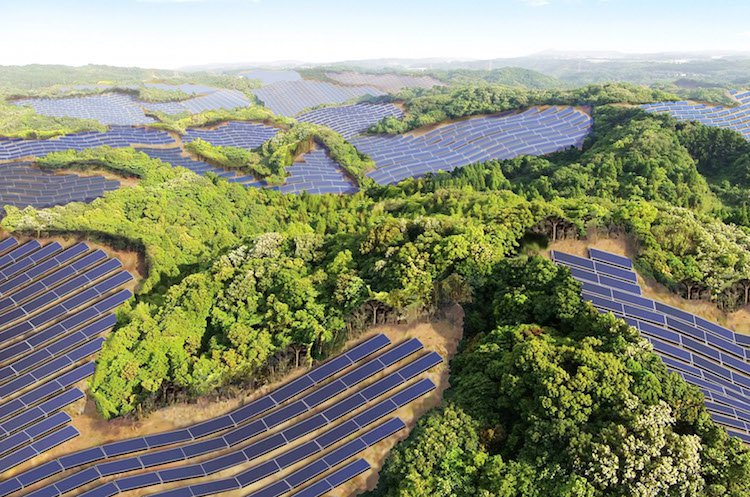 Japan's Abandoned Golf Courses Are Being Transformed Into Solar Power Farms!