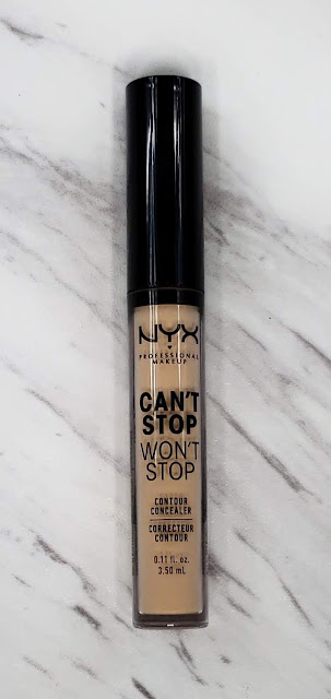 Review: Nyx Can't Stop Won't Stop Foundation & Concealer