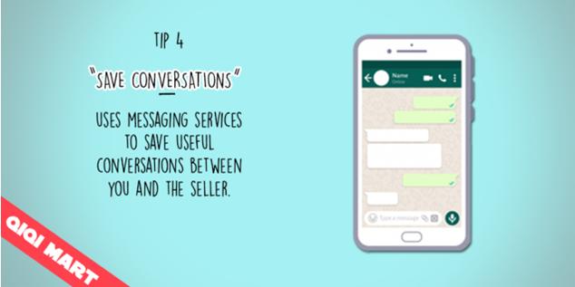 SAVE CONVERSATIONS